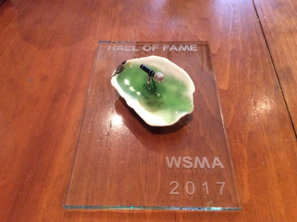 WSMA2017 Hall of Fame Award